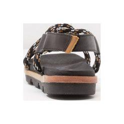 Rzymianki damskie: Sorel TORPEDA Sandały trekkingowe black