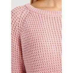 Swetry klasyczne damskie: Soaked in Luxury RIVIERA Sweter silver pink