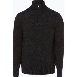 Swetry klasyczne męskie: Marc O'Polo – Sweter męski z dodatkiem lnu, szary