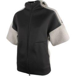 Bluzy rozpinane damskie: bluza sportowa damska ADIDAS ZNE SHORT SLEEVE HOOD REC / B46929