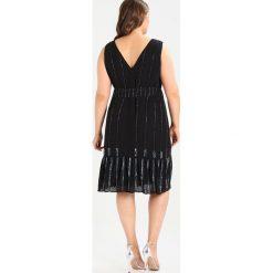 Sukienki hiszpanki: Lost Ink Plus THE WARDROBE WITH FLAPPER EMBELLISHMENT Sukienka koktajlowa black