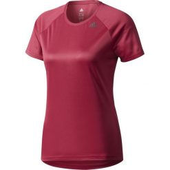 Bluzki damskie: Adidas Koszulka damska D2M Tee Lose czerwona r. XS (BQ5848)