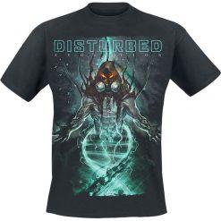 Disturbed Evolve T-Shirt czarny. Czarne t-shirty męskie z nadrukiem Disturbed, s, z dekoltem na plecach. Za 89,90 zł.