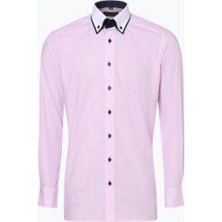 Finshley & Harding - Koszula męska, różowy. Czarne koszule męskie marki Finshley & Harding, w kratkę. Za 199,95 zł.