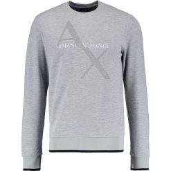 Armani Exchange Bluza heather grey. Czarne kardigany męskie marki Armani Exchange, l, z materiału, z kapturem. W wyprzedaży za 367,20 zł.