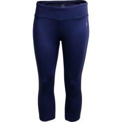 Legginsy treningowe damskie SPDF601A - granatowy - Outhorn. Niebieskie legginsy skórzane Outhorn. W wyprzedaży za 49,99 zł.