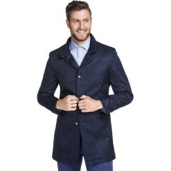 Płaszcz PIERPAOLO PSGS000070. Niebieskie płaszcze na zamek męskie Giacomo Conti, na jesień, m, z materiału. Za 699,00 zł.