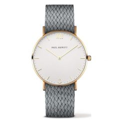 Biżuteria i zegarki damskie: Zegarek unisex Paul Hewitt Sailor PH-SA-G-ST-W-18M