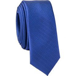 Krawat KWGS001681. Niebieskie krawaty męskie Giacomo Conti, z mikrofibry. Za 69,00 zł.
