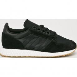 Adidas Originals - Buty Forest Grove. Brązowe halówki męskie marki adidas Originals, z bawełny. Za 329,90 zł.