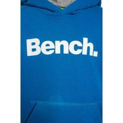 Bench CORE HOODY  Bluza z kapturem blue. Niebieskie bluzy chłopięce rozpinane Bench, z bawełny, z kapturem. Za 169,00 zł.