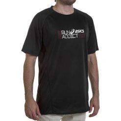 Koszulka męska ASICS - Graphic Ss Top 321224 0900 M. Czarne t-shirty męskie Asics, m, z elastanu. Za 129,00 zł.