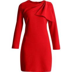Sukienki hiszpanki: Cortefiel DRESS WITH SIDE BOW DETAIL Sukienka letnia red