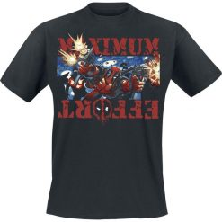 T-shirty męskie: Deadpool Maximum Effort T-Shirt czarny