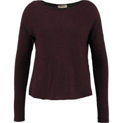 Swetry klasyczne damskie: American Vintage SONOMA Sweter griotte