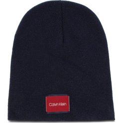 Czapka CALVIN KLEIN - Classic Beanie M K50K504118 448. Niebieskie czapki męskie Calvin Klein, z kaszmiru. Za 179,00 zł.