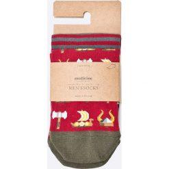 Medicine - Skarpety On The Go (2-pack). Szare skarpetki męskie marki MEDICINE, z bawełny. W wyprzedaży za 15,90 zł.
