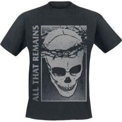 All That Remains Crown T-Shirt czarny. Czarne t-shirty męskie All That Remains, l. Za 74,90 zł.