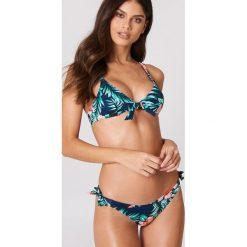 Tommy Hilfiger Dół bikini Side Tie Bikini Print - Multicolor,Navy. Niebieskie bikini TOMMY HILFIGER. W wyprzedaży za 101,48 zł.