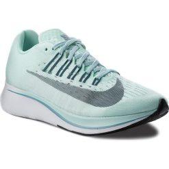 Buty NIKE - Zoom Fly 897821 300 Igloo/Deep Jungle/Noise Aqua. Zielone buty do biegania damskie Nike, z materiału, nike zoom. W wyprzedaży za 449,00 zł.