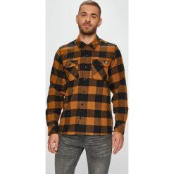 Dickies - Koszula 05.200142. Szare koszule męskie na spinki marki Dickies, na zimę, z dzianiny. Za 219,90 zł.