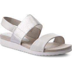 Sandały damskie: Sandały CAPRICE – 9-28608-20 White/Silver 191