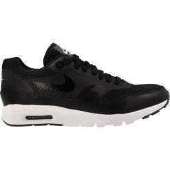 Buty Nike Air Max 1 Ultra Essentials (704993-009). Czarne buty sportowe damskie nike air max marki Nike, z materiału. Za 249,99 zł.