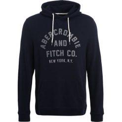 Bejsbolówki męskie: Abercrombie & Fitch BASIC LOGO Bluza z kapturem navy