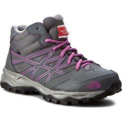 Buty trekkingowe dziewczęce: Trekkingi THE NORTH FACE – Hedgehog Hiker Mid Wp T0CJ8QNTJ Zinc Grey/Wisteria Purple