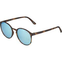 Le Specs SWIZZLE  Okulary przeciwsłoneczne ice blue/revo mirror. Brązowe okulary przeciwsłoneczne damskie lustrzane Le Specs. Za 229,00 zł.