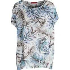 T-shirty damskie: Biały T-shirt Exotic Forest