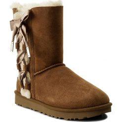 Buty UGG - W Pala 1017531 W/Che. Szare buty zimowe damskie marki Ugg, z materiału, z okrągłym noskiem. Za 1069,00 zł.
