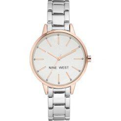 Zegarki damskie: Zegarek Nine West Damski NW/2099RGSB Fashion Cyrkonie srebrny