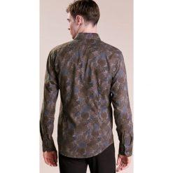 Koszule męskie na spinki: Eton SLIM FIT Koszula flanella dark