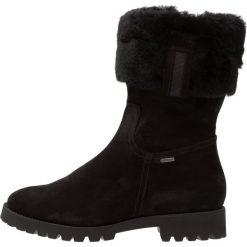 Högl Śniegowce black. Czarne buty zimowe damskie HÖGL, z materiału. W wyprzedaży za 569,40 zł.