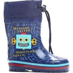 Buty dziecięce: Granatowe Kalosze Hard Mission