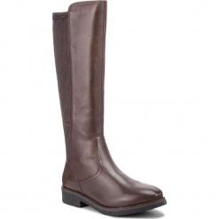 Oficerki CAPRICE - 9-25601-2 Dk Brown Nappa 337. Brązowe buty zimowe damskie Caprice, ze skóry ekologicznej, na obcasie. W wyprzedaży za 279,00 zł.