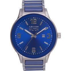 """Zegarki męskie: Zegarek kwarcowy """"Sinos"""" w kolorze srebrno-niebieskim"""