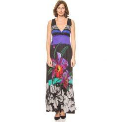 """Sukienki: Sukienka """"Infinito Rep"""" w kolorze czarnym ze wzorem"""