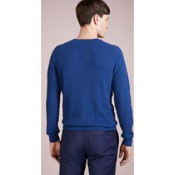 Swetry klasyczne męskie: Drumohr FELPA SPUGNA Sweter blu