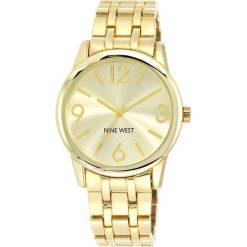 Zegarek Nine West Damski NW/1578CHGB Fashion Gold. Białe zegarki damskie Nine West. Za 311,70 zł.