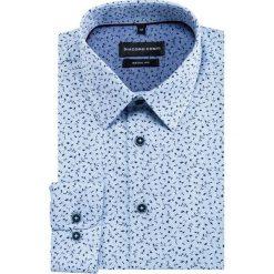 Koszula SIMONE KDNR000324. Niebieskie koszule męskie na spinki Giacomo Conti, m, z klasycznym kołnierzykiem, z długim rękawem. Za 149,00 zł.