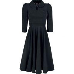 H&R London Glamorous Velvet Tea Dress Sukienka czarny. Czarne sukienki balowe H&R London, na imprezę, xl, z nadrukiem, proste. Za 304,90 zł.