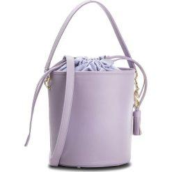 Torebka KAZAR - Paloma 32493-01-16 Fioletowy. Fioletowe torebki klasyczne damskie Kazar, w paski, ze skóry, z breloczkiem. W wyprzedaży za 449,00 zł.