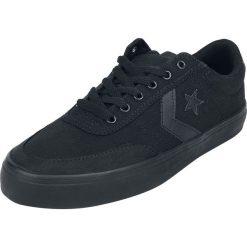 Converse Courtlandt - OX Buty sportowe czarny/czarny. Czarne buty sportowe damskie Converse, z gumy. Za 164,90 zł.