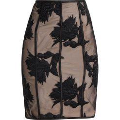 Spódniczki ołówkowe: Bardot FLOWER Spódnica ołówkowa  black