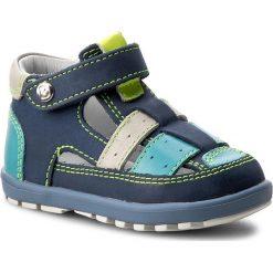 Sandały BARTEK - 11694 1C3 Niebiesko Zielony. Niebieskie sandały męskie skórzane marki Bartek. W wyprzedaży za 159,00 zł.