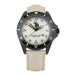 """Zegarki męskie: Zegarek """"USP4204IV"""" w kolorze czarno-beżowym"""