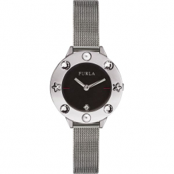 Zegarek FURLA - Club 996048 W W490 I49 Onyx. Szare zegarki damskie marki Furla. Za 825,00 zł.