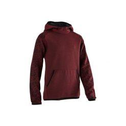Bluza 500 Gym. Czerwone bluzy chłopięce rozpinane DOMYOS, z kapturem. Za 44,99 zł.